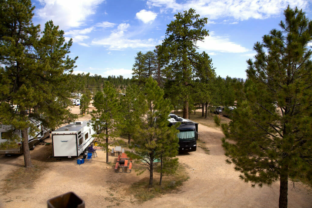 Bryce Canyon Campground Camping Facilities In Bryce Canyon